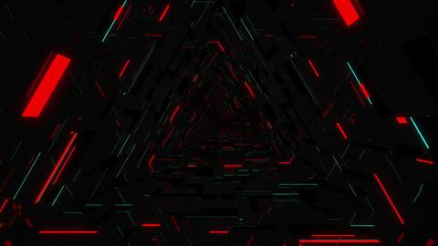Neon Tunnel VJ Loop 1 Animation