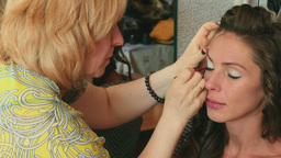 Make-up for photo session Footage