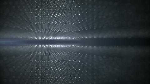 Abstract technology background grey grid loopable animation Animation
