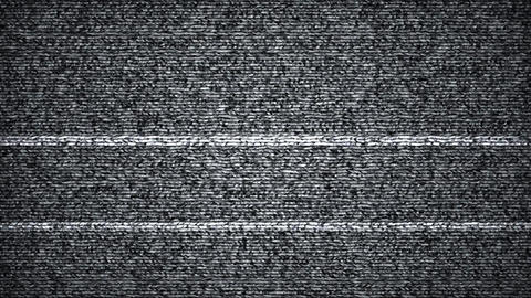 Static TV noise seamless loop abstract background Animation
