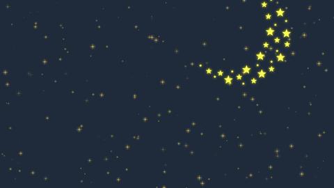 Moon and Sky Animation