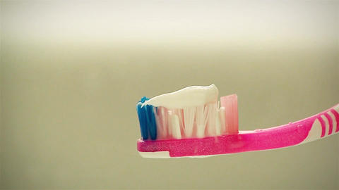 Toothbrush And Toothpaste 画像