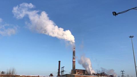 Smoke brick factory chimney increase Footage