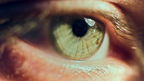 Eye Iris 2 Footage