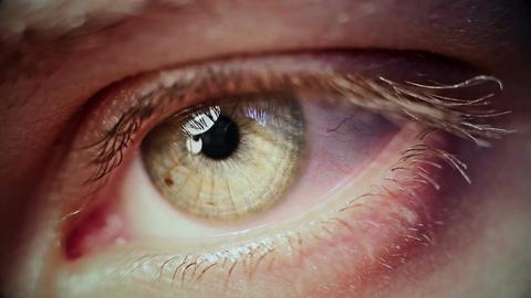 Eye Iris Footage