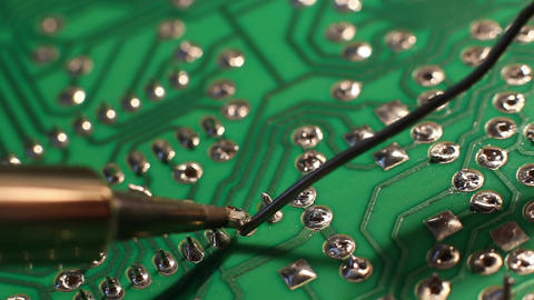Technical Electronics Soldering 11 Footage