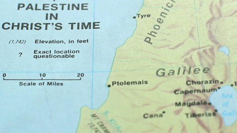 Map Time Of Jesus Christ 5 Live Action