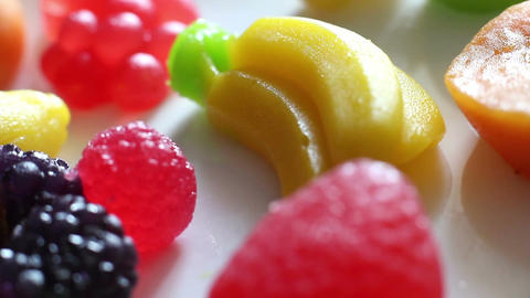 Rotation Fruit Marmalade 2 Footage