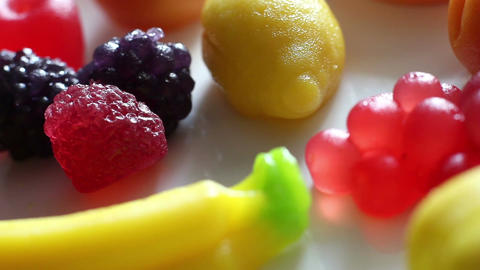 Rotation Fruit Marmalade 4 Footage