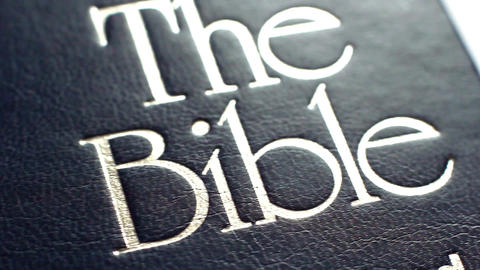 The Book Is The Bible Footage