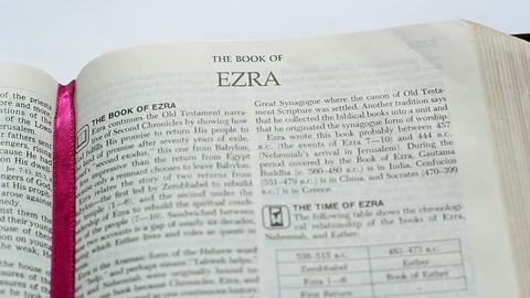 The Book Of Ezra Footage