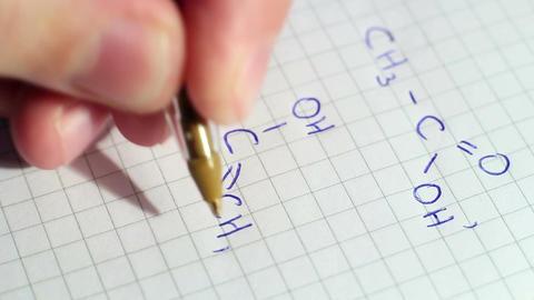 Writing Formulas Of Chemistry Image