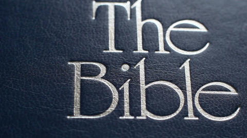 The Book Is The Bible 4 Footage