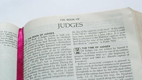 The Book Of Judges Footage
