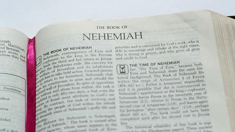 The Book Of Nehemiah Footage