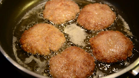 Frying patties