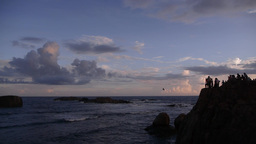 Sunset,Galle,Sri Lanka Footage