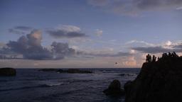 Sunset,Galle,Sri Lanka Footage