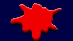 MELTING RED CIRCLE Animation