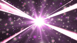 Motion pink background light stars and particles Animation