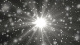 Motion silver background light stars and particles Animation