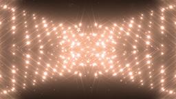 VJ Fractal orange kaleidoscopic background Animation
