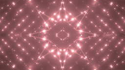 VJ Fractal red kaleidoscopic background Animation