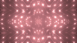 VJ Fractal red kaleidoscopic background Animation