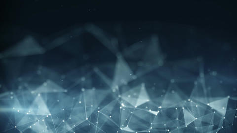 Futuristic network shape abstract techno loopable animation Animation
