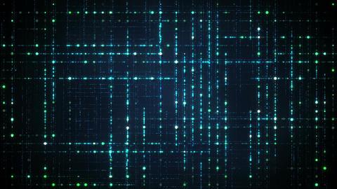 Abstract techology data grid seameless loop animation Animation