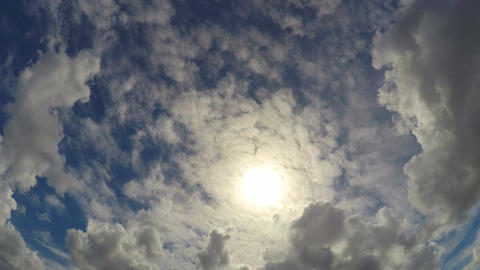 Beautiful cloudscape timelapse, everlasting happiness with God in heaven Footage