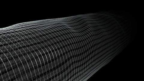 animation with wave object in motion made Animation