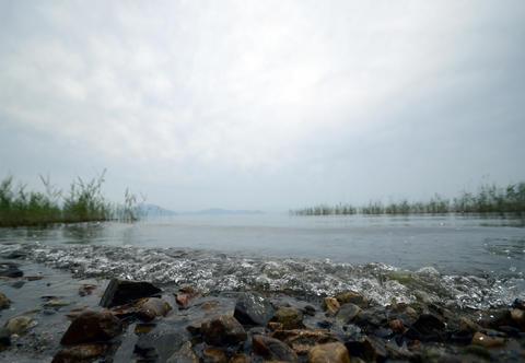 Japan's Secret Garden in biwa lake Photo
