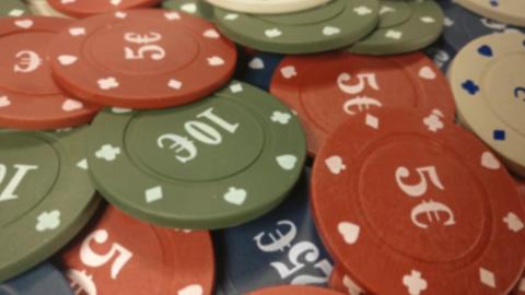 Casino Chips Zoom GIF