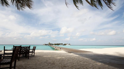 Maldives, Sun Island Footage