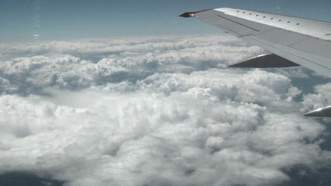 Clouds from plane Footage