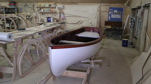 Completed the construction of the boat at the shipyard Live Action