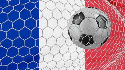 Ball and France flag