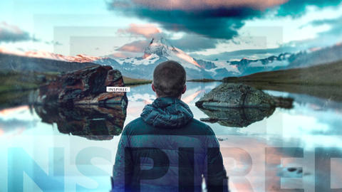Parallax Slideshow Apple Motion Template
