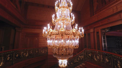 Luxury Crystals Chandelier Image