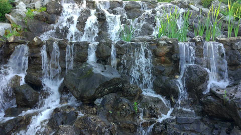 Artificial waterfall Image