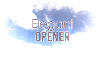 Elegant Opener - Apple Motion and Final Cut Pro X Template Apple Motionテンプレート