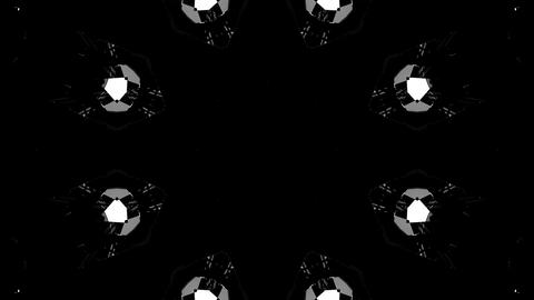 VJ Abstract Kaleidoscope Stock Video Footage