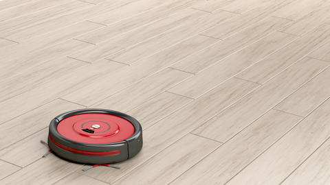 Robot vacuum cleaner Animation