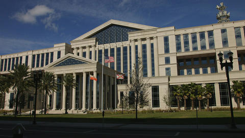 Time-Lapse of the Duval Courthouse in Jacksonville, Florida 영상물