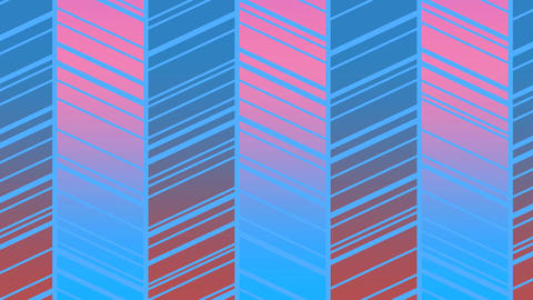 Retro Pattern (5) CG動画素材