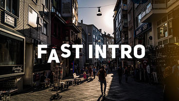 FAST OPENER After Effects Template