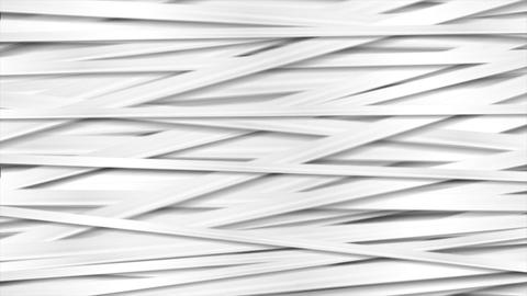 Abstract white grey stripes video animation Animation