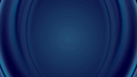 Dark blue iridescent flowing waves video animation Animation