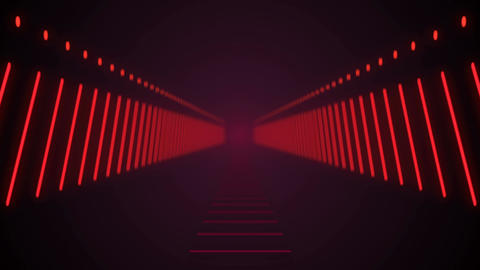 [alt video] Abstract background with technology tunnel. Seamless loop